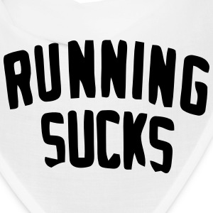 RUNNING SUCKS Caps - Bandana