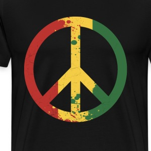 peace rastafara - Men's Premium T-Shirt