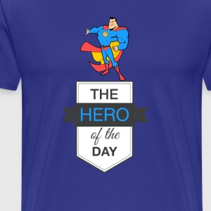 Hero Blue Honey - Men's Premium T-Shirt
