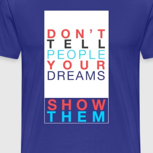 Don't Tell Bright - Men's Premium T-Shirt