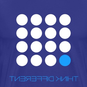 Think Different Bright Blue - Men's Premium T-Shirt