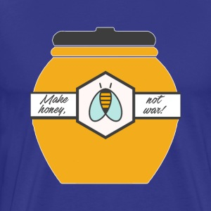 Make Honey Not War - Men's Premium T-Shirt