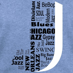 Jazz Long Sleeve Shirts - Women's Wideneck Sweatshirt