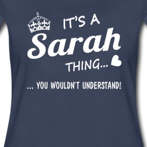 It's a Sarah thing - Women's Premium T-Shirt
