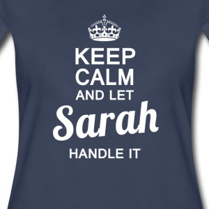 Let Sarah handle it ! - Women's Premium T-Shirt