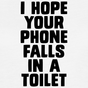 I HOPE YOUR PHONE FALLS IN A TOILET Tanks - Women's Flowy Muscle Tank by Bella