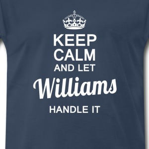 Williams handle it - Men's Premium T-Shirt