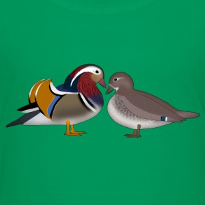 mandarin duck love Baby & Toddler Shirts - Toddler Premium T-Shirt