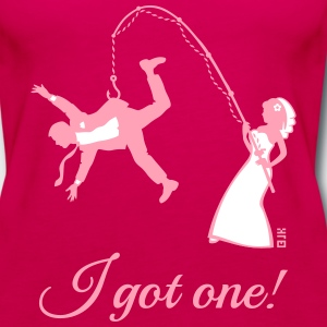 I Got One! (Bride / Bachelorette / Hen Party) Tanks - Women's Premium Tank Top