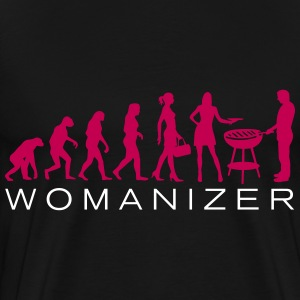 Evolution Ladies BBQWomanizer 2C T-Shirts - Men's Premium T-Shirt