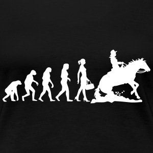 Evolution Ladies Westernriding Women's T-Shirts - Women's Premium T-Shirt