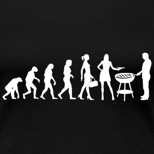 Evolution Ladies Grill Women's T-Shirts - Women's Premium T-Shirt