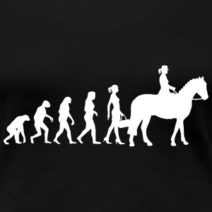 Evolution Ladies Horserid Women's T-Shirts - Women's Premium T-Shirt