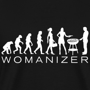 Evolution Ladies BBQ Womanizer T-Shirts - Men's Premium T-Shirt