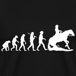 Evolution Mens Western Ri T-Shirts - Men's Premium T-Shirt