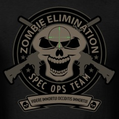 Zombe Elimination Spec Ops Team T-Shirts