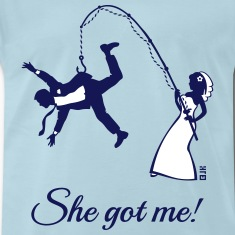 She Got Me! (Groom / Stag Party / Bachelor Party) T-Shirts