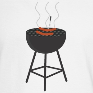 BBQ with sausages Long Sleeve Shirts - Men's Long Sleeve T-Shirt