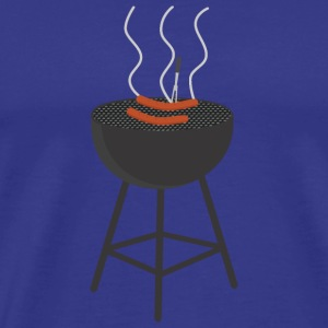 BBQ with sausages T-Shirts - Men's Premium T-Shirt