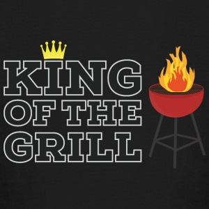 King of the grill Kids' Shirts - Kids' Long Sleeve T-Shirt