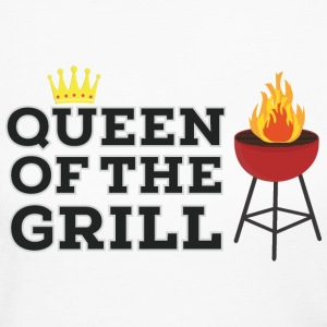 Queen of the grill Long Sleeve Shirts - Women's Long Sleeve Jersey T-Shirt