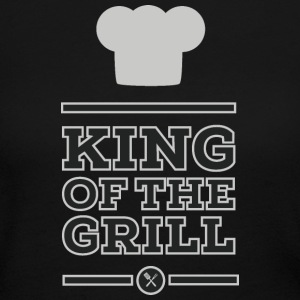 King of the grill Long Sleeve Shirts - Women's Long Sleeve Jersey T-Shirt