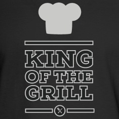 King of the grill Long Sleeve Shirts