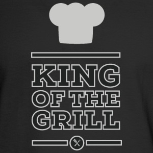 King of the grill Long Sleeve Shirts - Men's Long Sleeve T-Shirt
