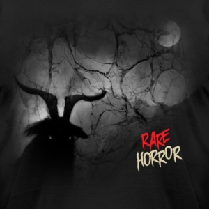 Rare Horror Black Metal - Men's T-Shirt by American Apparel