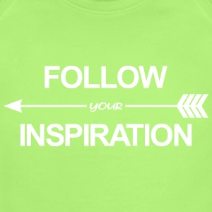 Follow Your Inspiration Baby Bodysuits - Short Sleeve Baby Bodysuit