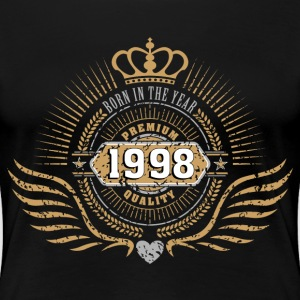 BORN IN 1998 Women's T-Shirts - Women's Premium T-Shirt