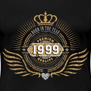 BORN IN 1999 Women's T-Shirts - Women's Premium T-Shirt