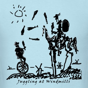 Juggling at Windmills T-Shirt (Men's Gildan) - Men's T-Shirt
