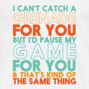 Funny Gamer T-shirt for Geek and Nerd Boyfriend - Men's Premium T-Shirt