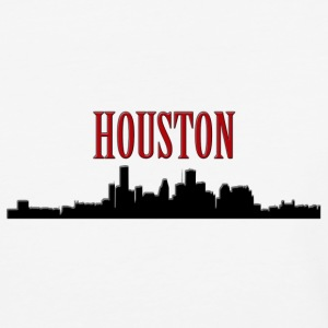 Houston Silhouette 2 - Co T-Shirts - Baseball T-Shirt
