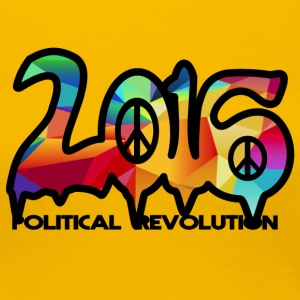 Political Revolution 2016 - Women's Premium T-Shirt