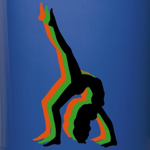 Gymnast Silhouette 3d Mugs & Drinkware - Full Color Mug