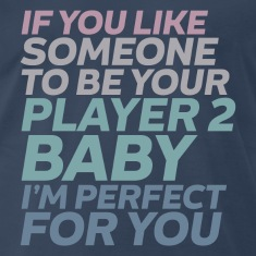 Funny Gamer and Geek Love Player No. 2