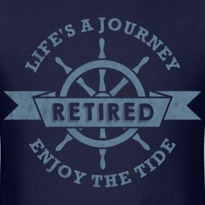 Nautical Retired T-Shirts - Men's T-Shirt