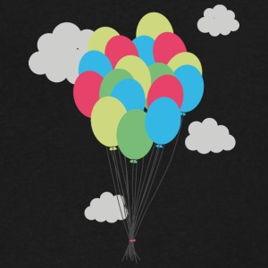 Colorful balloons T-Shirts - Men's V-Neck T-Shirt by Canvas