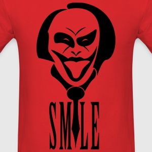 joker smile - Men's T-Shirt