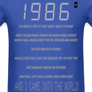 1986 30th Birthday - Men's T-Shirt