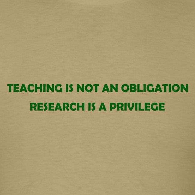 Teaching (Men's)