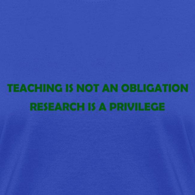 Teaching (Women's)
