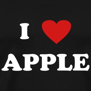 I heart Apple T-Shirts - Men's Premium T-Shirt