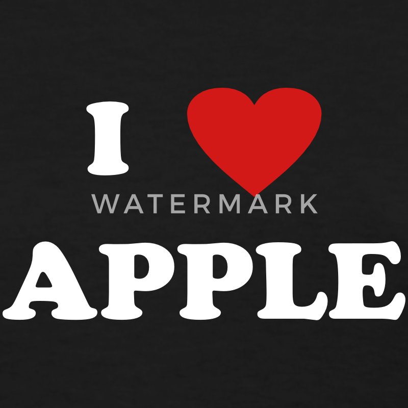 I heart Apple Women's T-Shirts - Women's T-Shirt