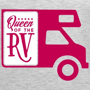 Camping queen of the rv Tanks - Women's Premium Tank Top