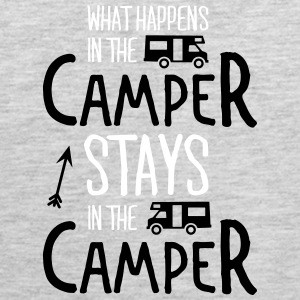 what happens in the camper... Tank Tops - Men's Premium Tank