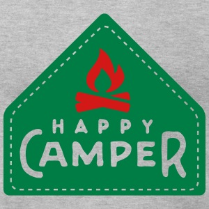 Camping: happy camper T-Shirts - Men's T-Shirt by American Apparel