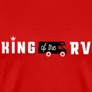 Camping king of the rv T-Shirts - Men's Premium T-Shirt